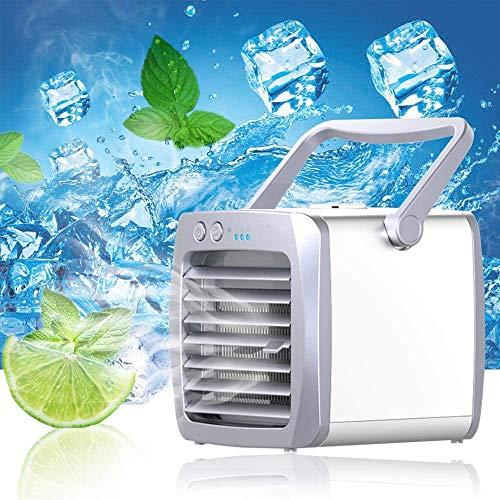 Yukaki Mini-USB-Luftkühler, tragbar, Luftbefeuchter, Luftreiniger
