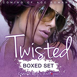 Twisted Saga     Coming of Age Romance              By:                                                                                                                                 Third Cousins,                                                                                        Danica Reid                               Narrated by:                                                                                                                                 Samuel Deeter                      Length: 2 hrs and 10 mins     12 ratings     Overall 4.5