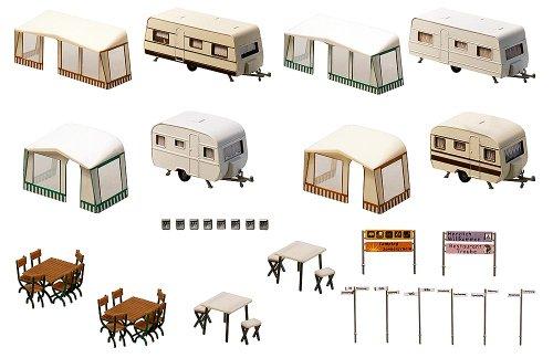 FALLER 130503 - Camping-Wohnwagen-Set
