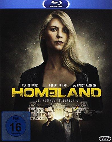 Homeland - Season 5 [Blu-ray]