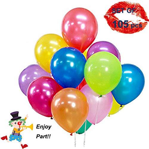 Unique'store 105 Ballons Colorés...