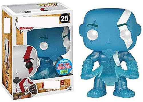 Pop God of War Kratos 3 Mano Modelo de Oficina Juguete God of War Kratos 25 # Decoración de Coche Coleccionable Multicolor-Segundo