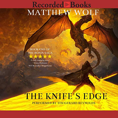 The Knife's Edge audiobook cover art