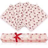 LA BELLEFÉE Duftendes Schrankpapier Schubladeneinlagen Perfekt für Kommode, Kleiderschrank, Schubladen, Regalen, 6 Blatt cm. 42 x 58 (Rose)