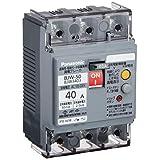 パナソニック(Panasonic) 漏電ブレーカ BJW型 OC付(モータ保護兼用) BJW3403