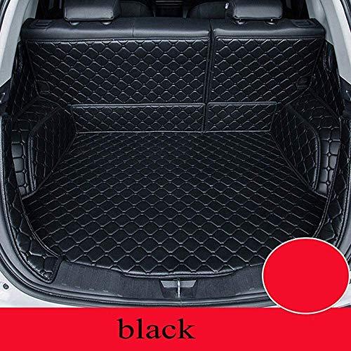 For Volvo Todos los modelos S60 S80 S40 c30 v40 v60 XC60 XC90 personalizados accesorios de automóvil trunkcar estilo estera del coche clmaths (Color : Black)