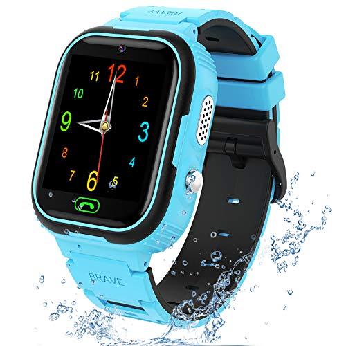 Niños Smartwatch con Video MP3 Player, Reloj inteligente con 7 Juegos, SOS, Cámara, Reloj Despertador, Calculadora, Reloj para Niños 4 a 12 años, Regalos de Cumpleaños, Sin aplicación / fácil de usar