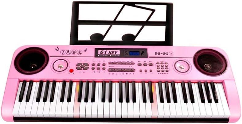 LIUFS-El teclado Teclado Multifuncional Niños Adultos Entrada ...