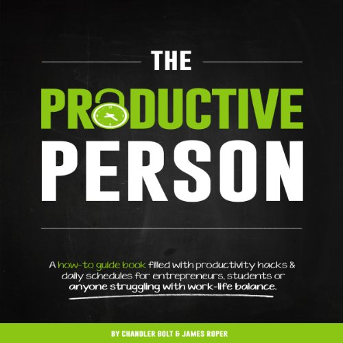 The Productive Person audiobook cover art
