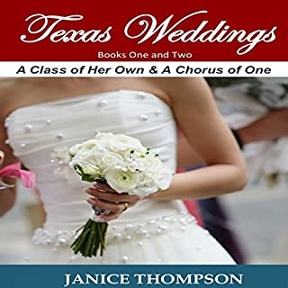 Texas Weddings: Books 1-2 audiobook cover art