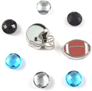nfl floating locket charms