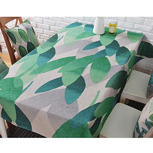 LWF-Nappe européenne Petites nappes en lin frais de coton Nappes rectangulaires Nappes de table basse de la maison Nappes de salon Nappes minimalistes modernes (Color : B, Size : 110 * 170cm)