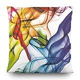 AG Design CN 3601 Cojín Decorativo con Funda, Tela, Multicolore, 45 x 45