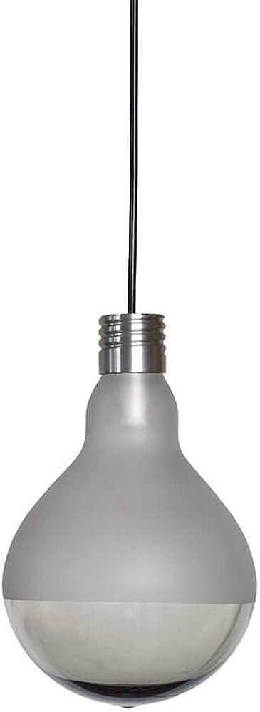 Karman makeup led, lampada a sospensione,in vetro trasparente SE123-3T