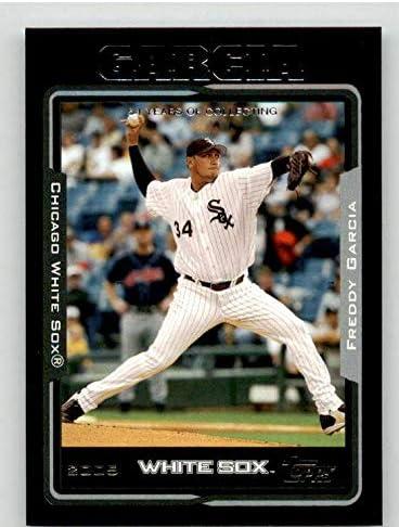 Freddy List price Garcia Card 2005 Topps Baseball Slabbed #374 - Black Max 50% OFF