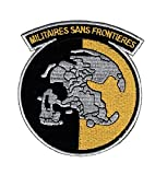 Militaires Sans Frontieres Metal Gear Solid Peace Walker Iron ON Patch (MTO5)