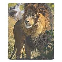 マウスパッド 滑り止め 天然ゴム 長方形 ビッグライオン