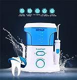 Cepillos de dientes eléctricos de rotación Irrigador dental y Nasal SMX&xh Flosser de agua 600 ml Professional Oral Irrigator Family Pack Selección de agua para los dientes con 8 boquillas
