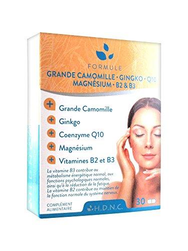 h.d.n.c Große Kamille Ginkgo Coenzym Q10Magnesium Vitamine B2und B330Tabletten