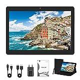 Tablet PC de 10 Pulgadas con Android 10, 4GB RAM + 64GB ROM, 1280*1080, extensión de 128GB, batería de 8000mAh, Dual SIM | Wi-Fi | GPS | Bluetooth.