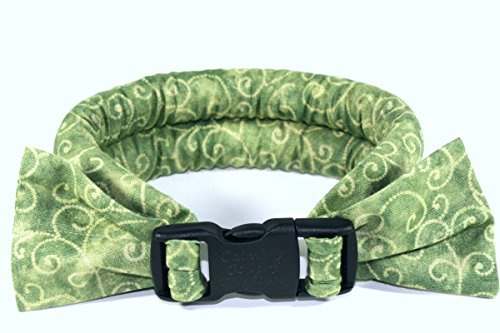 Calm Me Down - Calming Collars for Dog Anxiety - Large, Sage Scrolls