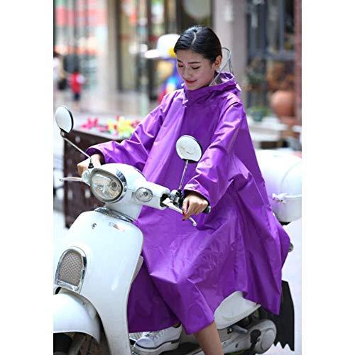Wasserdichtes Regenmantel-Set Motorrad wasserdicht große Regen Cape Coat Mobilität Roller Motorrad Regenmantel Regen Poncho Regen Mac Regenbekleidung Be applicable compatible for Motorrad XXXXL Regenj