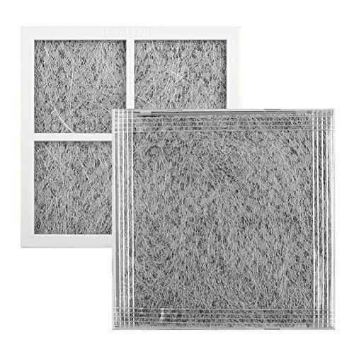 Kühlschrankfilter, 4 Ersatz-Kühlschrank-Luftreinigungsfilter, 3-lagige Aktivkohle-Geruchsentfernung für LG LT120F, Kühlschrank-Luftfilter/Luftreiniger/Luftreiniger, nicht null, Wie abgebildet, 4 Stück