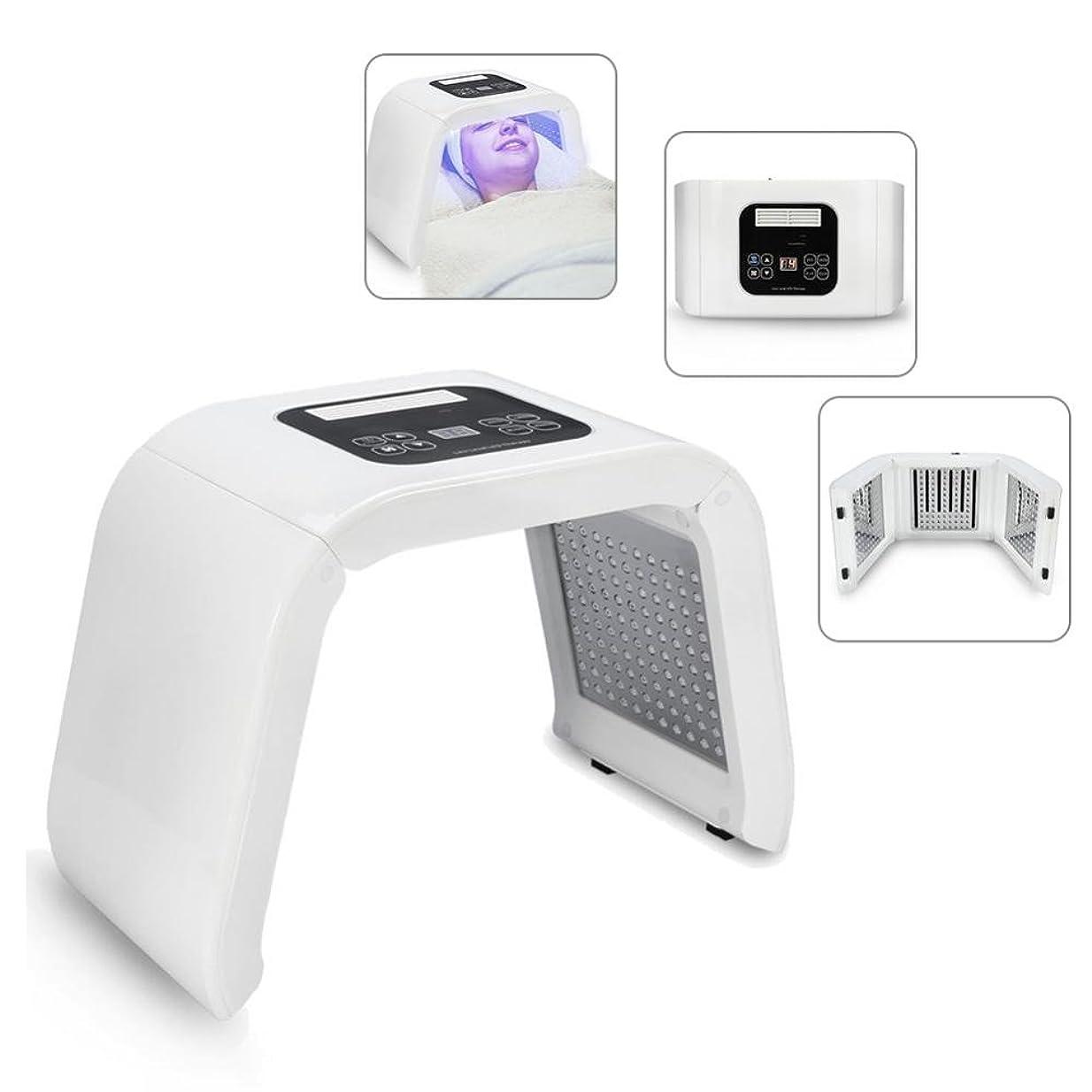検出器脊椎苦味LEDフェイスマスク LEDマシン 顔の肌の若返り 美白 色ライトケア 美ランプ 光子の器械 LEDトナーライト