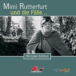 Todesliste (Mimi Rutherfurt 4) Titelbild