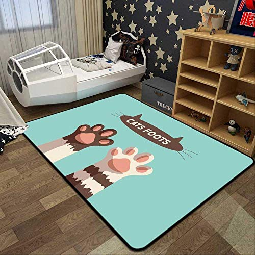 Area Rug Soft Mat Indoor Carpet Claw Tapijt, Deurmat, Bathroom Bedroom, Kitchen Door Mat, vrije tijd Huishoudelijke Mat Home Decoration ZHW345