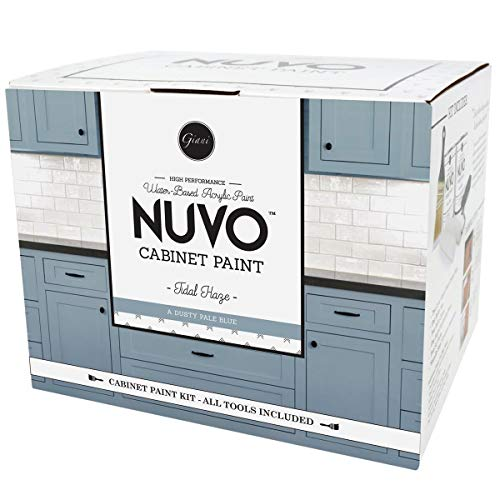 Nuvo Tidal Haze 1 Day Cabinet Makeover Kit, Dusty Pale Blue (Packaging May Vary)