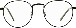 Classic Round Clear Glasses for Women Man Non-prescription Eyewear Frames
