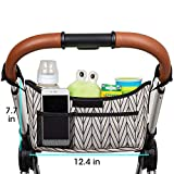 Universal Stroller Bag Organizer for Baby with Cup Holders...