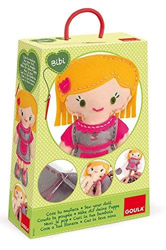 Goula Juego de manualidades para coser tu propia muñeca