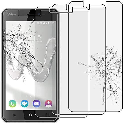 ebestStar - kompatibel mit Wiko Freddy Panzerglas x3 Schutzfolie Glas, Schutzglas Bildschirmschutz, Bildschirmschutzfolie 9H gehärtes Glas [Phone: 143 x 71.8 x 10.6mm, 5.0'']