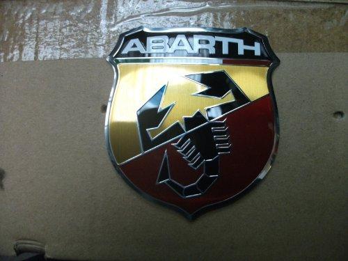 Original Fiat 500 Abarth Emblem vorne Frontemblem Firmenzeichen Logo - 735496478