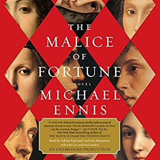 Advance First Chapter of The Malice of Fortune audiobook cover art
