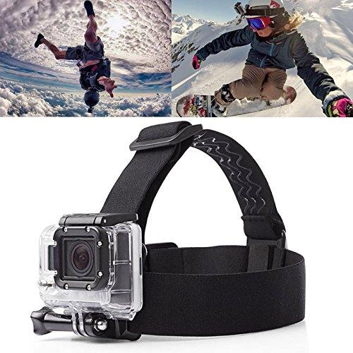 Professioneel, duurzaam, verstelbaar, elastisch, voor sportcamera buiten.