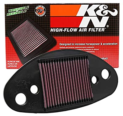 K&N Engine Air Filter: High Performance, Premium, Powersport Air Filter: 2001-2008 SUZUKI (C50 Boulevard, C50B Boulevard, C50T Boulevard, VL800 Intruder C800, C50C Boulevard) SU-8001