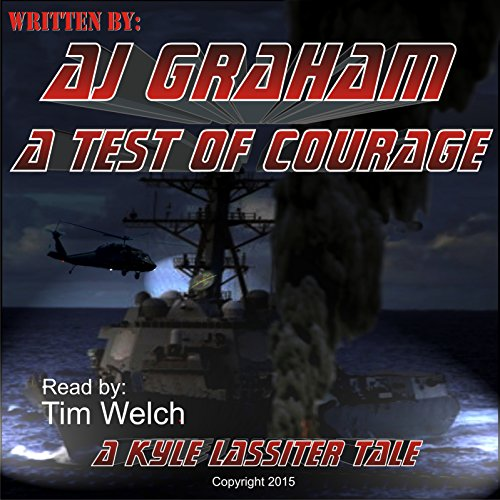 A Test of Courage audiobook cover art