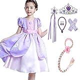 Disfraz de Princesa Sofía para niñas, disfraz, Halloween, fiesta de cumpleaños, disfraces