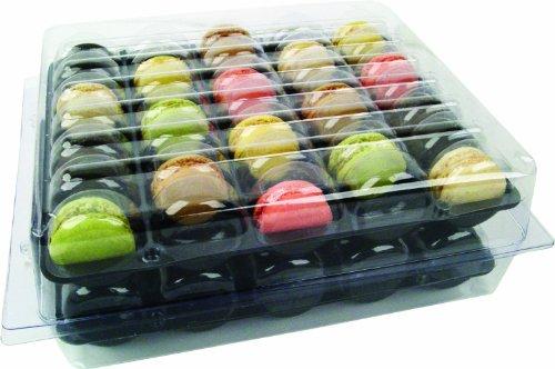 Cuisineonly - Scatola per 70 macaron