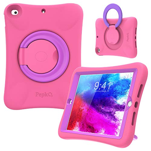 PEPKOO Kids Case for iPad 8th 7th Generation 10.2...