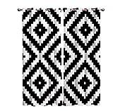 RJDHNGAK 3D Cortinas Opacas De Ojales Figura GeoméTrica En Blanco Y Negro 140x160Cm Resistente Lavable Impresión Poliéster Reducción De Ruido Ojal Opaco Cortinas para Salon Modernas(2 Piezas)