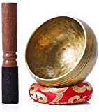 Bol Chantant Tibetain Puissant,Bol Tibétain livre,Bol Chantant Tibetain Ensemble,Bol Chantant Artisanal,Bol Musical,Maillet Bol Tibetain,Bol Tibétain Chantant,Bol Chantant Tibétain