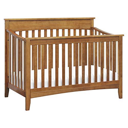 DaVinci Grove 4-in-1 Convertible Crib in Chestnut, Greenguard Gold Certified