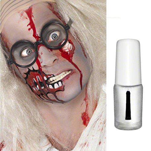 NET TOYS Mastix Hautkleber Spirit Gum Kleber für Wunden und Bärte Klebemittel für Latex Applikationen Kosmetischer Spezialkleber Halloween Kosmetik Karneval Accessoires