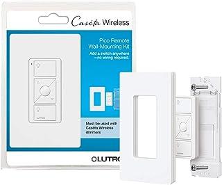 Lutron, White Caseta Wireless Pico Wall-Mounting Kit, PJ2-WALL-WH-L01, 1 pack