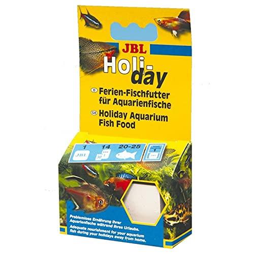 JBL Holiday Bloque de Comida para Peces, para Vacaciones