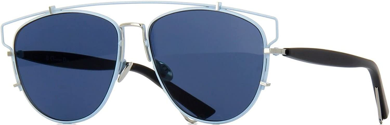 Christian Dior TECHNOLOGIC PQX A9 Pale bluee Black Silver bluee Sunglasses